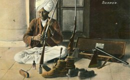 INDIA -  Bearer - VG Ethnic Postcard - Asie