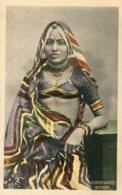 INDIA -  A Marwaree Lady - VG Ethnic Postcard - Asie