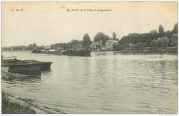 95 ARGENTEUIL. Train De Péniches Sur La Seine 1906 - Argenteuil