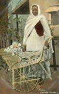 INDIA -  An Ayah Lady (indian Nurse) - VG Ethnic Postcard - Asie