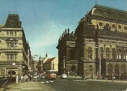 Praha (Rep. Ceca) National Theatre, Theatre National, Teatro Nazionale - Repubblica Ceca