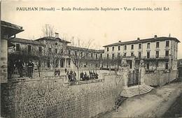 Dpts Div.-ref-AF642- Herault - Paulhan - Ecole Professionnelle - Vue D Ensemble - Côté Est - Ecoles Professionnelles - - Paulhan
