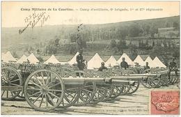 WW GUERRE 1914-18. Camp Militaire De La Courtine. Artillerie 8° Brigade 1er Et 37° Régiments 1906 - Guerre 1914-18