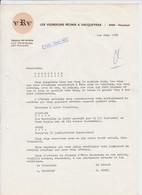 PUB - VIN VACQUEYRAS - VRV - VIGNERONS REUNIS - 84190 VAUCLUSE - 1975 - Alcools