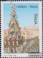 Italy 2523 (complete Issue) Unmounted Mint / Never Hinged 1997 Variavon Palmi - 6. 1946-.. Republic