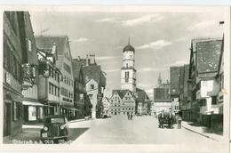 Biberach 1952; Marktplatz - Gelaufen. (Franckh - Stuttgart) - Biberach