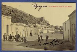 CPA ESPAGNE - ALMERIA - CALLE DE SAN ANTON - Almería