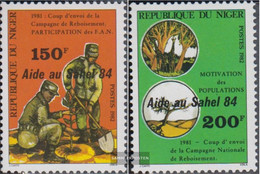 Niger 915-916 (complete Issue) Unmounted Mint / Never Hinged 1984 Help For The Sahel Zone - Niger (1960-...)