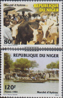 Niger 897-898 (complete Issue) Unmounted Mint / Never Hinged 1984 Market Of Ayerou - Niger (1960-...)