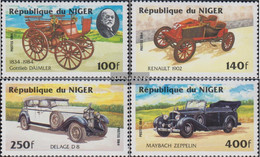Niger 892-895 (complete Issue) Unmounted Mint / Never Hinged 1984 Cars - Niger (1960-...)