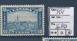 CANADA COB 154 LH - 1911-1935 Règne De George V