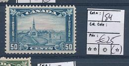 CANADA COB 154 MINT NO GUM - 1911-1935 Règne De George V