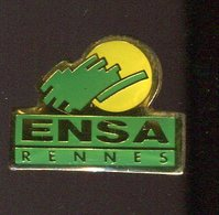 Pin's - ENSA RENNES école Nationale Supérieur Agronomique - Bretagne - Food