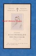Faire Part De Décés Avec Photo - REIMS - Aline ROGELET Décédée Le 18 Aout 1896 à L'age De 17 Ans - Décès