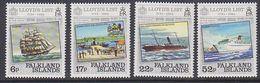 Falkland Islands 1984 Lloyd's List 4v ** Mnh (41754) - Falklandeilanden