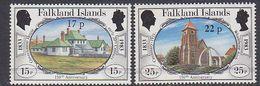 Falkland Islands 1984 Definitive Surcharges 2v ** Mnh (41754B) - Falklandeilanden
