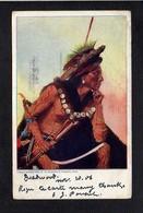 Indien Amérique / Indien,Indian Et  Illustrateur à Identifier ( Voir état ! ) - Amérique