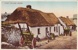 CARTOLINA - POSTCARD - IRELAND - IRLANDA - IRISH VILLAGE SCENE - Altri