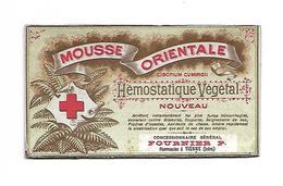 38 Vienne Carte Publicitaire Mousse Oriental Fournier Vienne - Cartes