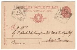 Cartolina Postale 97 Viaggiata 1898 C.2079 - Italia
