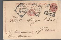 Cartolina Postale 902 Viaggiata 1902 C.2081 - Italia