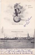 A Travers Anvers Circulée En 1908 - Antwerpen