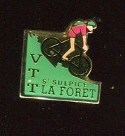 Pin's - VTT Saint Sulpice La Forêt - Rennes Bretagne - Vélo Cyclisme - Cyclisme