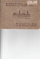 MICHELBEKE KOSTSCHOOL DER ZUSTERS VAN ST FRANCISCUS VAN ASSIESIE SCHOOLJAAR 32_33   BOEKJE VAN 30 KAARTEN - Brakel