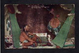 Indien Amérique / The Medicine Lodge / Glacier National Park Montana / See America First ( Gros Pli ) - Amérique