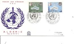 Algérie - Santé ( FDC De 1966 à Voir) - Algeria (1962-...)