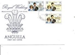 Anguilla - Mariage Royal ( FDC De 1981 à Voir) - Anguilla (1968-...)