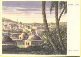 ISRAELE - ISRAEL - Nazareth - Terra Santa Di Nazareth, Di Dandolo Bellini - Disegno - Not Used - Israele