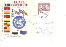 Malaisie ( FDC De 1958 à Voir) - Malayan Postal Union