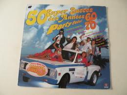 50 Super Succès Des Années 60/70 - (Titres Sur Photos) - Vinyle 33 T LP - Hit-Compilations