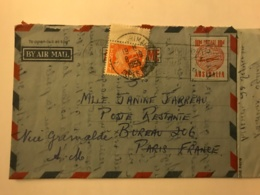 Australie - Aerogramme With French Tax Stamp 1955 - Aerogrammes