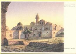ISRAELE - ISRAEL - Gerusalemme - Il Cenacolo Di Gerusalemme, Di Dandolo Bellini - Disegno - Not Used - Israele