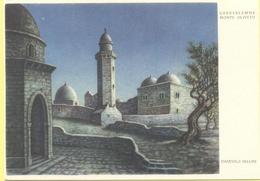 ISRAELE - ISRAEL - Gerusalemme - Il Monte Oliveto Di Gerusalemme, Di Dandolo Bellini - Disegno - Not Used - Israele