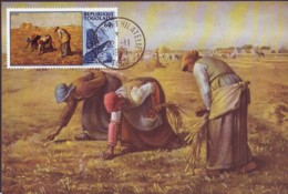 The Gleaners,  Painting By  Millet   Maximum Card  1969 Togo - Togo (1960-...)