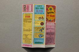Bulletin Jeu Chambourcy, 1968 - Publicités