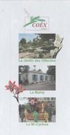 COEX VENDEE - MAIRIE, CHAR MI CAREME, JARDIN DES OLFACTIES - PAP ENTIER POSTAL 2008 - VOIR LES SCANNERS - Géographie