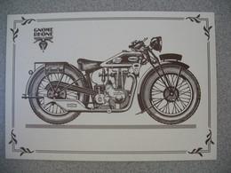Carte Moto  Gnome Et Rhône CME 350  1931 - Motos
