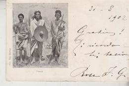 Eritrea Africa Orientale Habab Guerrieri 1902   Vg - Eritrea