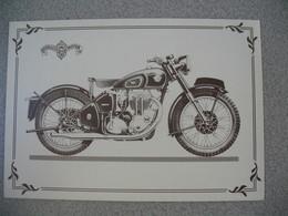 Carte Moto  Matchless  G 80 1953 - Motos