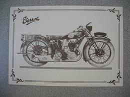 Carte Moto  Terrot  350 Cm 3 HST  1932 - Motos