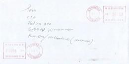 "Angola 2003 Lubango Meter Franking Hasler ""Mailmaster"" H-8 Cover - Angola"