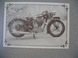 Carte Moto  Motobécane  500  Super Culasse  1938 - Motos
