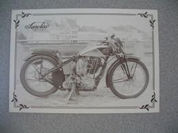 Carte Moto  Saroléa Mono Tube Racing  1936 - Motos
