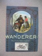 Carte Moto  -    1908  Wanderer  -Motorzweiräder   Berlin 1983 - Motos