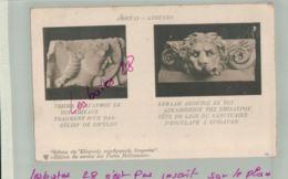 CPA CRECE- ATHENES   Dipylon Tëte De Lion  à EPIDON  Entier Postal SERVICE DES POSTES HELLENIQUES  -Jan 2019 1310 - Grèce