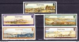 Guernsey 1985 Nr 349/53 **, Zeer Mooi Lot Krt 3432 - Guernesey